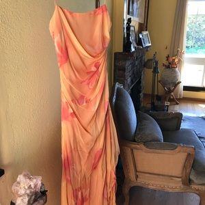 Long evening or wedding dress